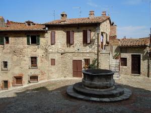Piazzetta Castiglione d'Orcia
