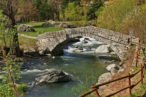 Uno dei due ponti romani (ma sono medioevali….)