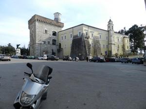 Piazza Castello e la Rocca