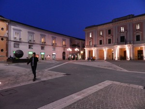 Piazza Roma by night