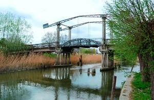 vecchio ponte a bilancieri