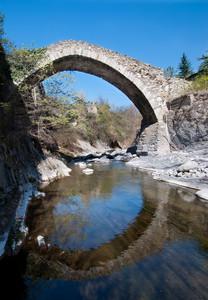 Ponte romanico Pieve di Teco