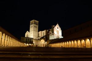Suggestivo nella notte San Francesco