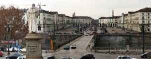 Giornata grigia a Torino