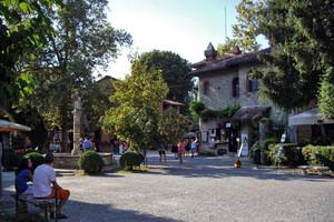 La piazza della fontana