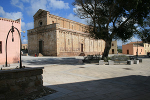 Piazza della chiesa di santa Maria