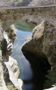 Il ponte sull'orrido di Sant'Anna
