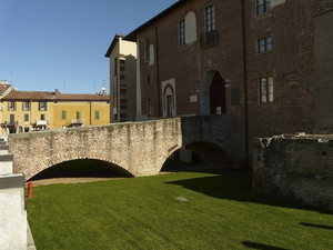 Entrata al castello Visconteo