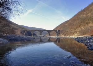 """"""" Il ponte delle Bocche Borbera """""""