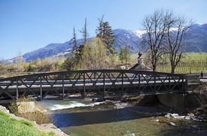 Mele e ponti della Val Venosta