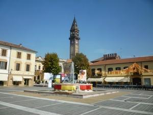 Piazza della Repubblica a Mede
