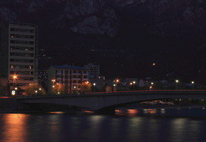 Ponte Kennedy by night