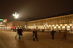 "Piazza San Carlo ""by night"""
