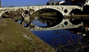 Prato, ponte sul Bisenzio