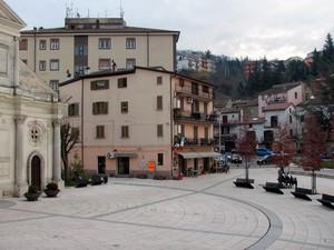 La piazza del Garibaldino