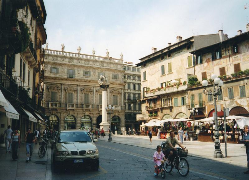 ''Piazza Erbe'' - Verona