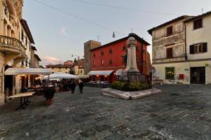 Giuseppe Giusti … La piazza