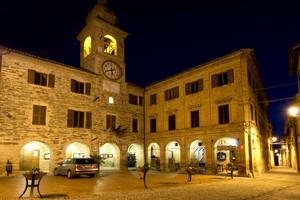 Piazza Umberto I° – Belforte del Chienti
