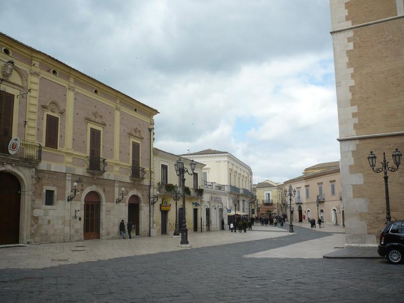 ''Piazza Duomo  è cambiato il punto di vista'' - Lucera