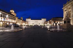 Ora Blu in Piazza Castello