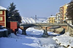 Dogliani, ponte sull torrente Rea