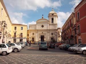 Piazza Duomo a Crotone