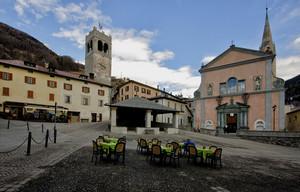 Piazza Cavour – Bormio -