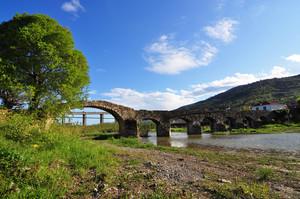 Ponte medioevale sul torrente Merula