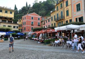 My love in Portofino.