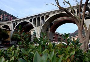 Il ponte sopra Sori