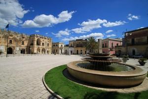 La fontana di piazza Castromediano