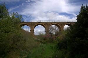 ponteminore vecchia ferrovia C.Vecchia-Orte