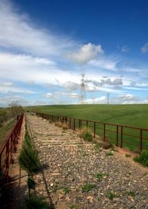 ponte nella campagna Civitavecchiese