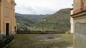 Piazzetta panoramica di Torre Paponi, fraz. di Pietrabruna