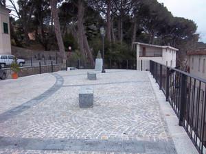 Piazza Castello ad Altilia
