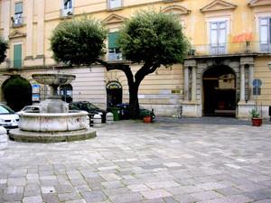 Capua piazza s.Tommaso d'Aquino