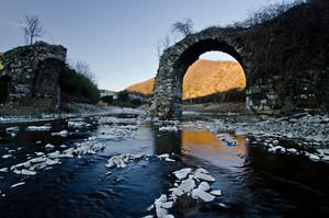 """Il Tramonto sul """"vecchio ponte"""""""