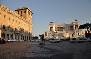 Traffico in piazza