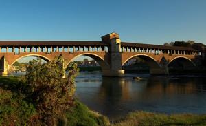 Tramonto al ponte coperto