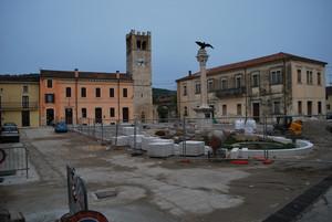 Piazza in restauro
