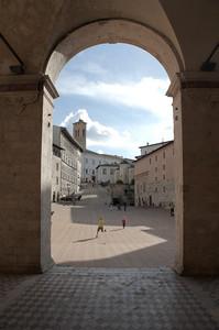 Spoleto (PG) Piazza Duomo