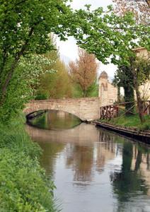 Il Clitunno e i suoi ponti