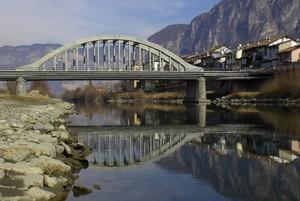 Riflessi sull'Adige