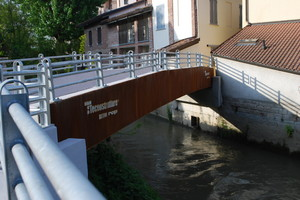 Ponte nuovo sul torrente Arbogna