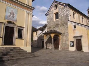 una piazza religiosa