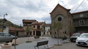 Piazza San Sebastiano di Cosio  d'Arroscia