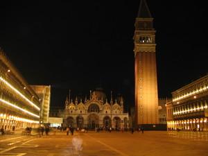 Piazza S. Marco con Fantasmi