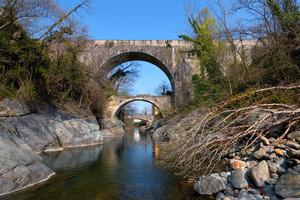Il ponte dei Preti.