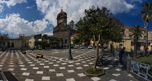 Uno splendido cielo sopra piazza Duomo