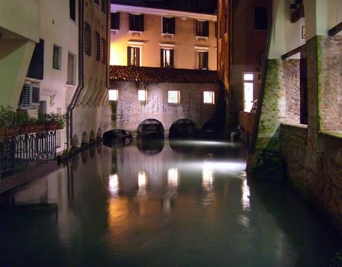 Treviso - Caratteristico ponte coperto